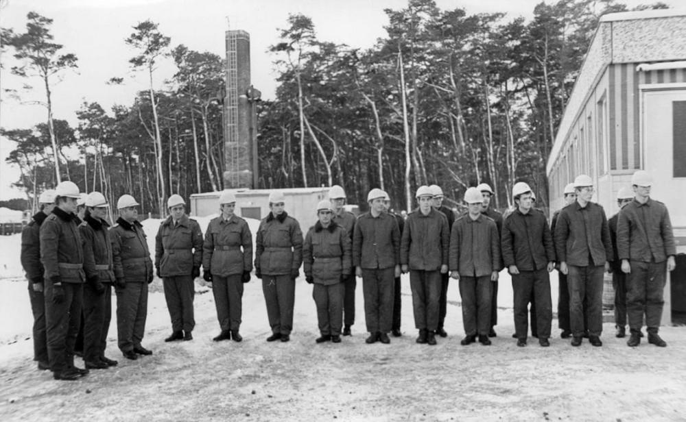 Pionierbaubataillon Mukran mit Bausoldaten | DenkMALProra